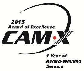 CAM_X_Award Award Wining Service 2014 copy