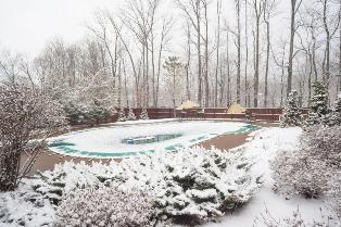 pool winterizing Akron